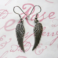 My Angel ~ Wings of Flight Earrings (Small)