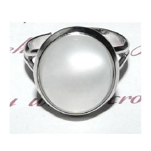 Moonbeam 'Full Moon'  Silver Ring