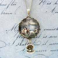 The Mermaids Song 'Oberon' Fantasy Necklace