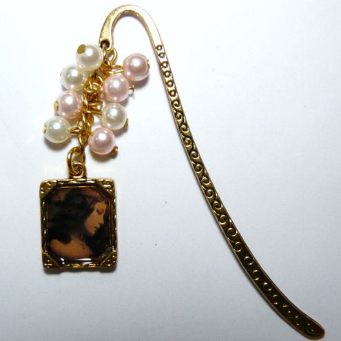 Victorian Sweetheart Vintage Styled Bookmark