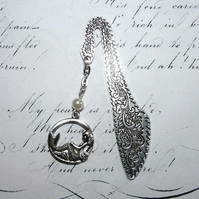 Sleeping Mermaid Pearl Luxury Bookmark