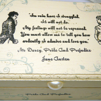 Pride and Prejudice Mr Darcy's Proposal Jewelry Box, You Must ... Jane Austen