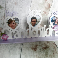Family Photo x 3 photo frames