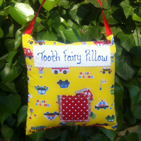 Tooth Fairy Pillow Car Fabric