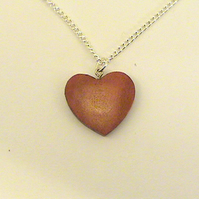 A tiny heart pendant