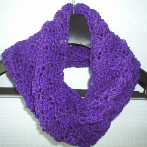 view other items from gweddusart purple crocheted cowl neck scarf Cowl Neck Scarves Crochet