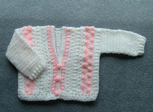 girl's crochet cardigan (ref 092)