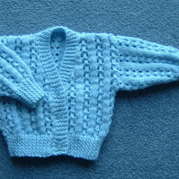 new baby boy cardigan (ref 095)