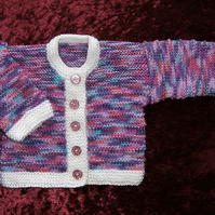Knitted baby jacket (ref 128)