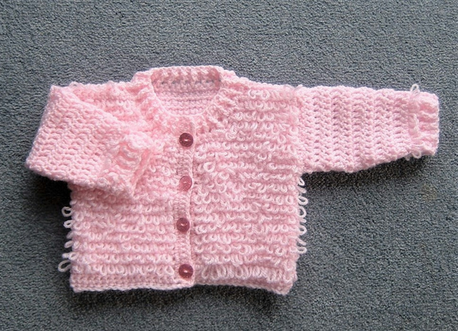 SALE Baby loopy cardigan (ref 144)