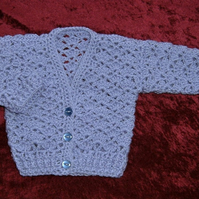 SALE lacy baby cardigan (ref 16784)