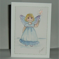 Fairy greetings card (ref 191)