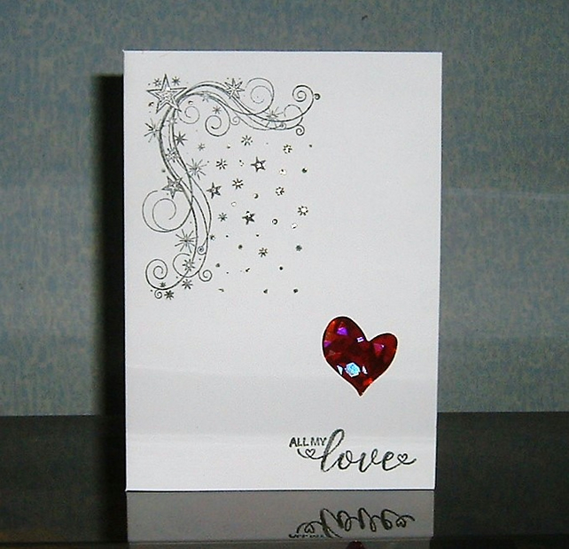 valentine card Love greetings card (ref 862)