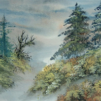 watercolour landscape art painting (ref 203)