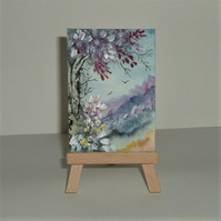 aceo miniature fantasy painting