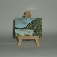 paintings aceo miniature art.(ref 252)