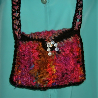 crocheted should bag. ( ref F 533)