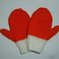 Christmas knitted mittens for toddlers POST FREE ( ref F 913)