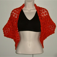 SALE....Lady's sparkly party or wedding shrug bolero (ref F 684)