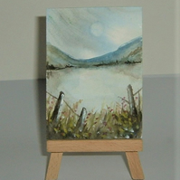 original art landscape painting ( ref F 165)