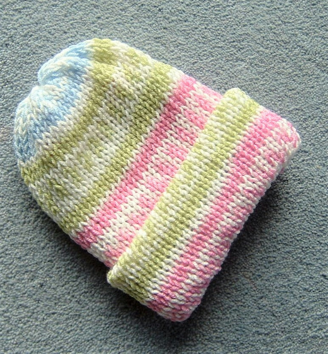 knitted toddler hat ( ref FK05)