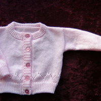 knitted baby cardigan ( ref FK31)