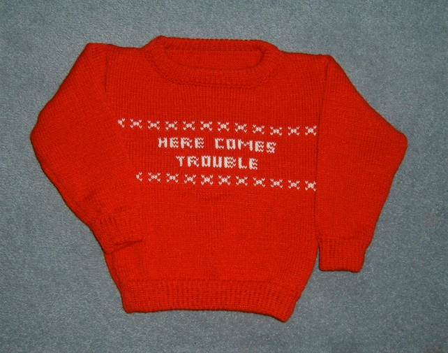 child's crew neck jumper ( ref fk 42)