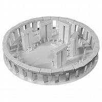 Stonehenge Paper Model Kit