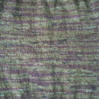 Hand knit neck warmer