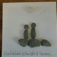 Pebble art,  gift idea