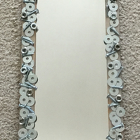 Decorated mirror