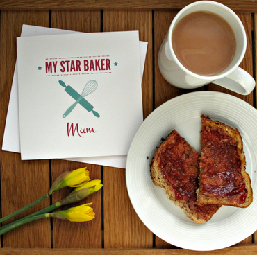 My Star Baker Mum Bake Off Birthday Day Card