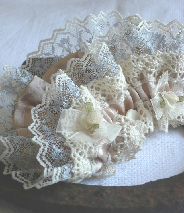 Wedding Garter - Victoriana