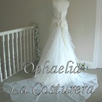 Ophaelia - Wedding Dress CUSTOM MADE