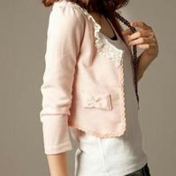 Pretty Pink Bow Jacket