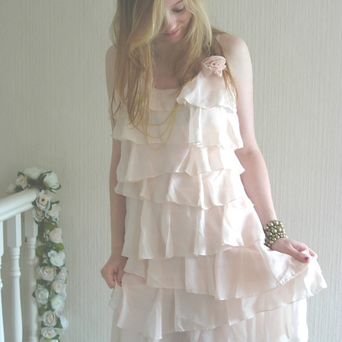 SALE Ruffled Dress