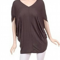 Comfy Batwing Top Grey or Brown
