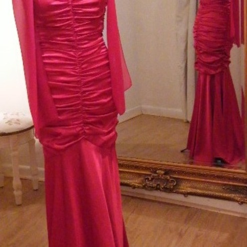 ON SALE Prom Evening Gown - Rouched
