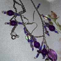 Necklace Set - 'Gone Purple'