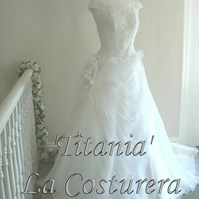 SALE - Titania-Wedding Dress