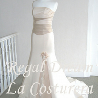 ON SALE - Regal Dream Wedding Dress