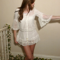Romantic Lace Tunic