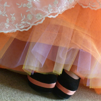 Custom 6 Layer Petticoat handmade Wedding - Long