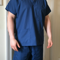 Medical Scrubs Set Top and Trousers