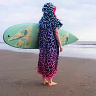 Leopard 'Cover Up Surf' changing towel