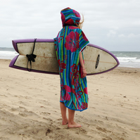 Hibiscus 'CoverUp Surf' changing towel