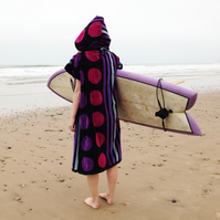 spotty 'Cover up surf' changing towel