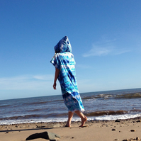 Tie Dye 'Cover Up Surf' Changing towel