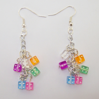 Sliced and Diced Earrings