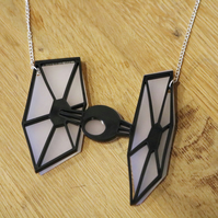 TIE Fighter Star Wars Necklace
